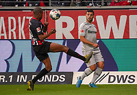 Gelson Fernandes (Eintracht Frankfurt) blockt die Flanke von Kevin Volland (Bayer Leverkusen) - 18.10.2019: Eintracht Frankfurt vs. Bayer 04 Leverkusen, Commerzbank Arena, <br /> DISCLAIMER: DFL regulations prohibit any use of photographs as image sequences and/or quasi-video.