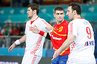 Spain and Croatia during 23rd Men's Handball World Championship preliminary round match, in the pic: Aitor Bengoechea. January 19 ,2013. (ALTERPHOTOS/Caro Marin) /NortePhoto