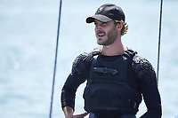 30 July 2017 - Mallorca, Spain - Pierre Casiraghi on board of the Malizia catamaran during the 36th Copa del Rey Mapfre Sailing Cup, training day at Palma de Mallorca, Spain. Photo: PPE/ThortonCredit: PPE/face to face/AdMedia