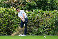 Keith Fitzpatrick (Kinsale) on the 14th tee during the AIG Barton Shield Munster Final 2018 at Thurles Golf Club, Thurles, Co. Tipperary on Sunday 19th August 2018.<br /> Picture:  Thos Caffrey / www.golffile.ie<br /> <br /> All photo usage must carry mandatory copyright credit (&copy; Golffile | Thos Caffrey)