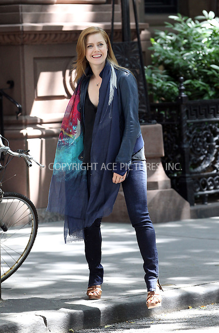 WWW.ACEPIXS.COM . . . . .  ....June 16 2012, New York City....Actor Amy Adams on the set of the new movie 'Lullaby' on June 16 2012 in New York City....Please byline: John Peters - ACE PICTURES.... *** ***..Ace Pictures, Inc:  ..Philip Vaughan (212) 243-8787 or (646) 769 0430..e-mail: info@acepixs.com..web: http://www.acepixs.com