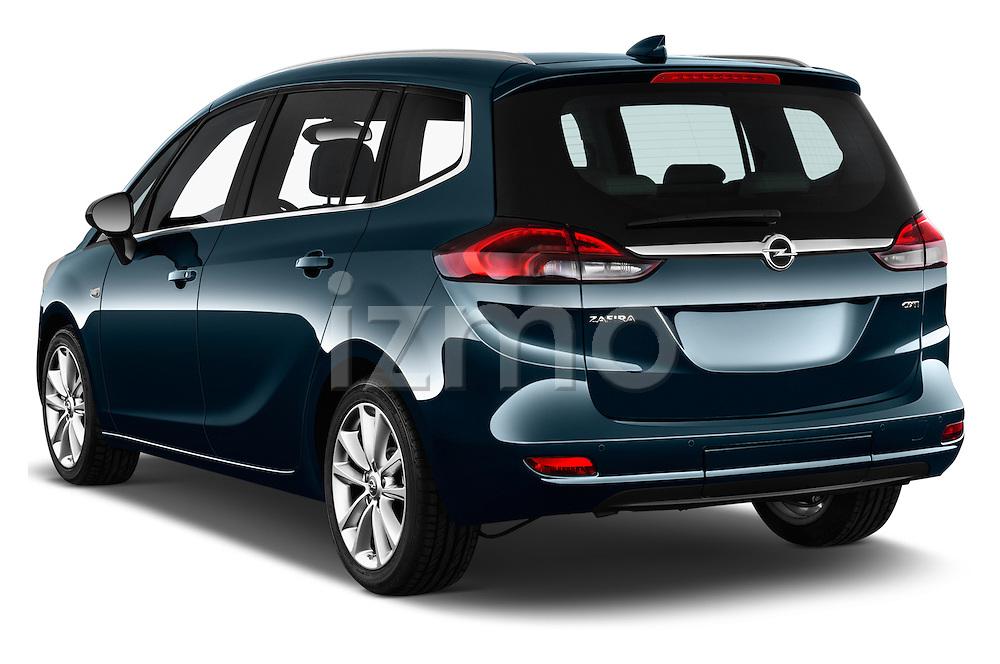 Car pictures of rear three quarter view of 2017 Opel Zafira Innovation 5 Door Mini MPV Angular Rear