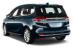 Car pictures of rear three quarter view of 2017 Opel Zafira Innovation 5 Door Mini MPV Angular Rear