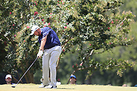 Shane Lowry (IRL) tees off the 2nd tee during Saturday's Round 3 of the 2017 PGA Championship held at Quail Hollow Golf Club, Charlotte, North Carolina, USA. 12th August 2017.<br /> Picture: Eoin Clarke | Golffile<br /> <br /> <br /> All photos usage must carry mandatory copyright credit (&copy; Golffile | Eoin Clarke)