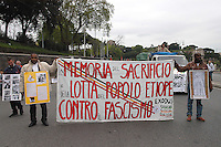Roma 25 Aprile 2005  . Manifestazione per il 60° anniversario  della liberazione dal Nazifascismo da Porta San Paolo..Roma25 April 2005. Demonstration for the 60th anniversary of liberation from Nazi-fascism from Porta San Paolo