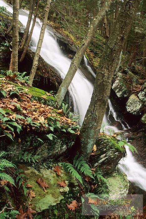 Buttermilk Falls, National Recreation Area, Delaware Water Gap, New Jersey