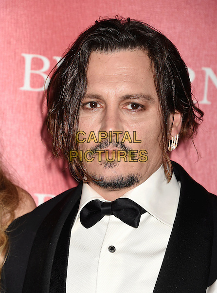 PALM SPRINGS, CA - JANUARY 02: Actor Johnny Depp attends the 27th Annual Palm Springs International Film Festival Awards Gala at Palm Springs Convention Center on January 2, 2016 in Palm Springs, California.<br /> CAP/ROT/TM<br /> &copy;TM/ROT/Capital Pictures