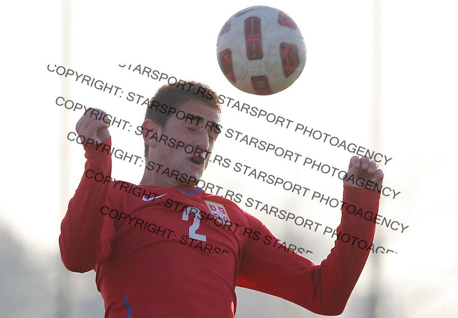 Fudbal  Reprezentacija Srbije<br /> Prijateljski mec Friendly match<br /> Srbija U17 v Croatia U17 <br /> Marko Mijailovic<br /> Beograd, 11.12.2013.<br /> foto: Srdjan Stevanovic/Starsportphoto &copy;