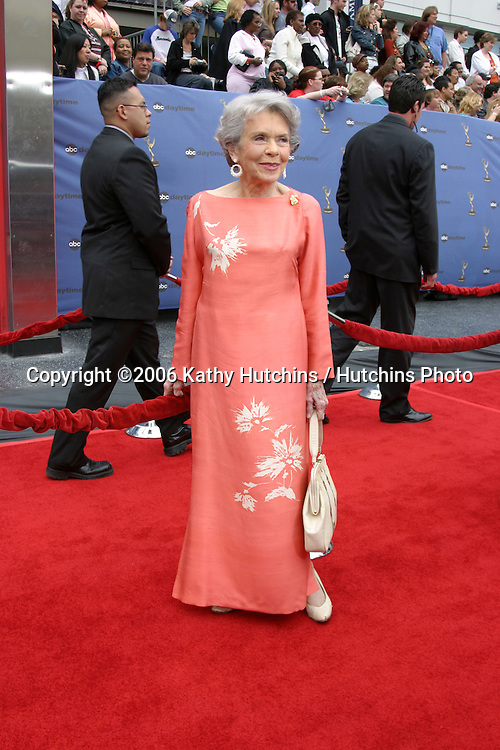 Helen Wagner.33rd Daytime Emmy Awards.Kodak Theater.Hollywood & Highland.Los Angeles, CA.April 28, 2006.©2006 Kathy Hutchins / Hutchins Photo..