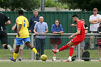 Conor Wilkinson of Leyton Orient scores the second goal during Harlow Town vs Leyton Orient, Friendly Match Football at The Harlow Arena on 6th July 2019