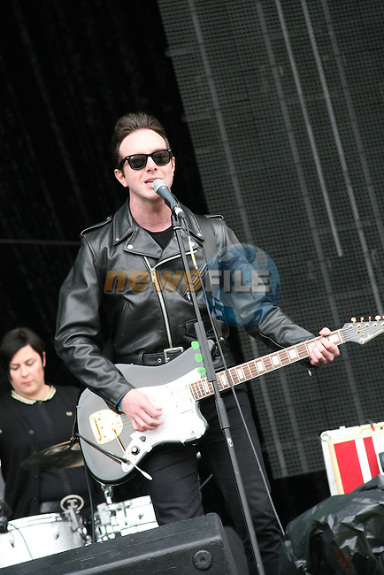 Glas Vegas at Slane 2009...Photo NEWSFILE/Jenny Matthews.(Photo credit should read Jenny Matthews/NEWSFILE)....This Picture has been sent you under the condtions enclosed by:.Newsfile Ltd..The Studio,.Millmount Abbey,.Drogheda,.Co Meath..Ireland..Tel: +353(0)41-9871240.Fax: +353(0)41-9871260.GSM: +353(0)86-2500958.email: pictures@newsfile.ie.www.newsfile.ie.FTP: 193.120.102.198.