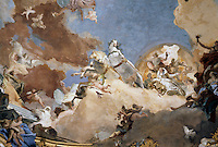Wurzburg: Ceiling of Kaisershall Residence by Tiepold.