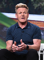 BEVERLY HILLS - JULY 23: Chef Gordon Ramsay onstage during the GORDON RAMSAY: UNCHARTED panel at the National Geographic portion of the Summer 2019 TCA Press Tour at the Beverly Hilton on July 23, 2019 in Los Angeles, California. (Photo by Frank Micelotta/National Geographic/PictureGroup)