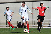 David Brooks of Sheffield United and England in action during England Under-18 vs Ivory Coast Under-20, Toulon Tournament Final Football at Stade de Lattre-de-Tassigny on 10th June 2017