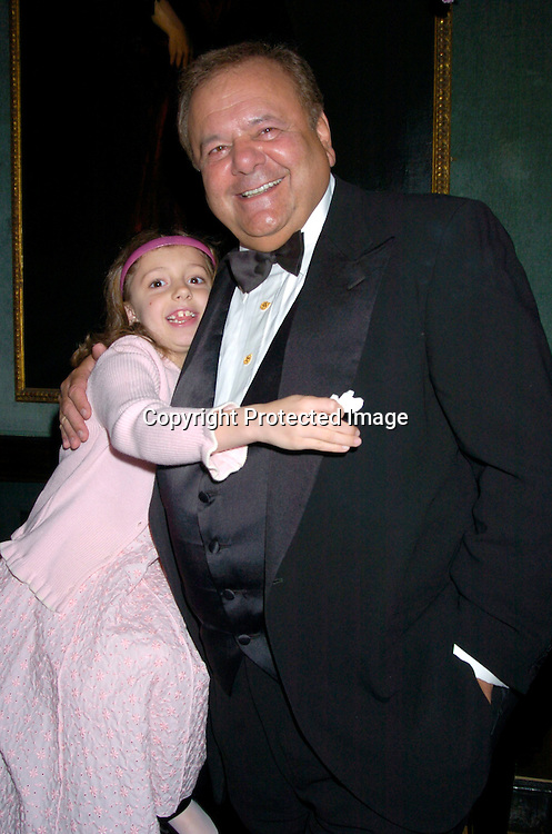 Paul Sorvino and his granddaughter Claudia Rose Sorvino ..at the National Arts Club which honored Paul Sorvino ..with their Medal of Honor on April 21, 2004 in New York City. Photo by Robin Platzer, Twin Images