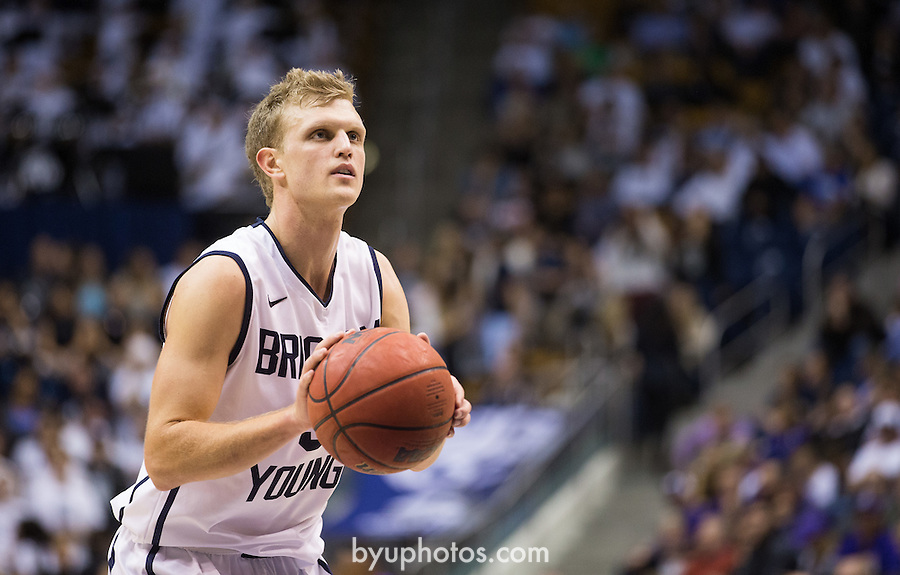 13-14mBKB vs Weber State 1397<br /> <br /> 13-14mBKB vs Weber State<br /> <br /> BYU-81<br /> WSU-72<br /> <br /> November 8, 2013<br /> <br /> Photo by Jaren Wilkey/BYU<br /> <br /> &copy; BYU PHOTO 2013<br /> All Rights Reserved<br /> photo@byu.edu  (801)422-7322<br /> <br /> Photo by Mark A. Philbrick/BYU<br /> <br /> &copy; BYU PHOTO 2013<br /> All Rights Reserved<br /> photo@byu.edu  (801)422-7322