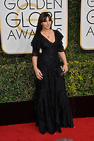 Monica Bellucci at the 74th Golden Globe Awards  at The Beverly Hilton Hotel, Los Angeles USA 8th January  2017<br /> Picture: Paul Smith/Featureflash/SilverHub 0208 004 5359 sales@silverhubmedia.com