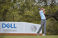 Brendan Steele (USA) watches his tee shot on 10 during day 3 of the World Golf Championships, Dell Match Play, Austin Country Club, Austin, Texas. 3/23/2018.<br /> Picture: Golffile | Ken Murray<br /> <br /> <br /> All photo usage must carry mandatory copyright credit (&copy; Golffile | Ken Murray)
