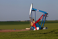 Oil well, Williston, ND.