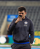 9th December 2017, St James Park, Newcastle upon Tyne, England; EPL Premier League football, Newcastle United versus Leicester City; Harry Maguire of Leicester City takes a photo of St James Park before the match