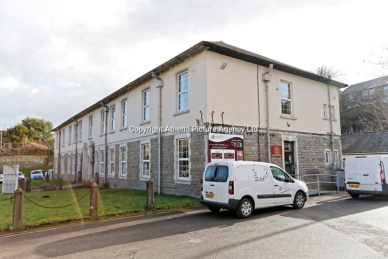 COPY BY TOM BEDFORD<br /> Pictured: Aberdare Coroner's Court, Wales, UK.<br /> Re: Inquest to be held at Aberdare Coroner's Court over a house fire that killed a father and his children in Llangammarch Wells on the 31st of October 2017, in mid Wales, UK. <br /> David Cuthbertson, 68, and children Just Raine, 11, Reef Raine, 10, and Patch Raine, who was six, and their nine-year-old sister Misty Raine.<br /> Three other children aged 10, 12 and 13 escaped and were taken to hospital.