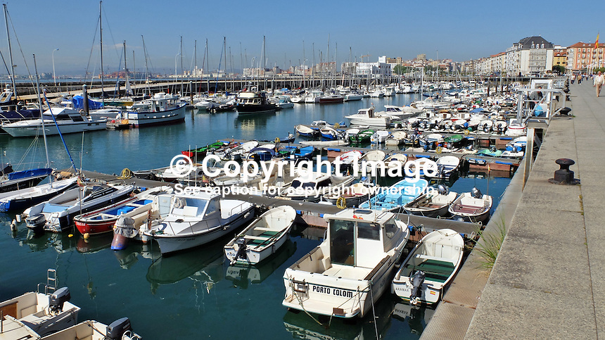 Seafront, marina, Santander, Spain, May, 2015, 201505070817<br />