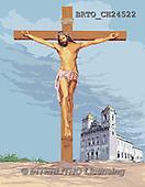 Alfredo, EASTER RELIGIOUS, OSTERN RELIGIÖS, PASCUA RELIGIOSA, Christo, paintings+++++,BRTOCH24522,#ER#