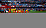 Sweden National team during the Qualifiers - Group B to Euro 2020 football match between Spain and Sweden on 10th June, 2019 in Madrid, Spain. (ALTERPHOTOS/Manu Reino)