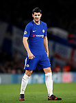 Chelsea's Alvaro Morata in action during the Champions League Group C match at the Stamford Bridge, London. Picture date: December 5th 2017. Picture credit should read: David Klein/Sportimage