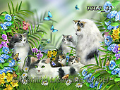 Lori, REALISTIC ANIMALS, REALISTISCHE TIERE, ANIMALES REALISTICOS, paintings+++++Mary's Kitties_Puzzle_3_72,USLS31,#A#, EVERYDAY ,puzzles