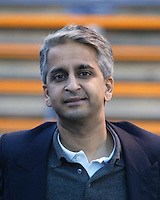 New England Revolution vice-president Sunil Gulati before the Revolution's 2005 MLS match against the San Jose Earthquakes on April 2, 2005 at Spartan Stadium in San Jose, California.  The match ended in a 2-2 tie.