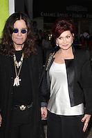 WESTWOOD, CA - OCTOBER 01:  Ozzy Osbourne and Sharon Osbourne at the premiere of CBS Films' 'Seven Psychopaths' at Mann Bruin Theatre on October 1, 2012 in Westwood, California. ©mpi27/MediaPunch Inc. /NortePhoto