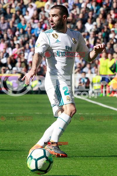 Real Madrid's Daniel Carvajal during La Liga match. April 8,2018. (ALTERPHOTOS/Acero) NortePhoto.com