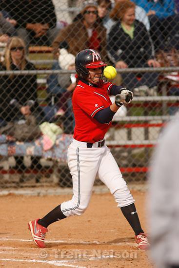 Trent Nelson  |  The Salt Lake Tribune.Springville - Springville vs. Bingham high school softball Thursday, March 18, 2010. Caitlyn Erickson
