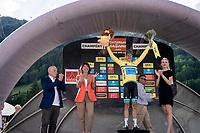 Jakob Fuglsang (DEN/Astana) wins the Dauphiné for a 2nd time in his career<br /> <br /> Stage 8: Cluses (FRA) to Champéry (SUI)(113km)<br /> 71st Critérium du Dauphiné 2019 (2.UWT)<br /> <br /> ©kramon