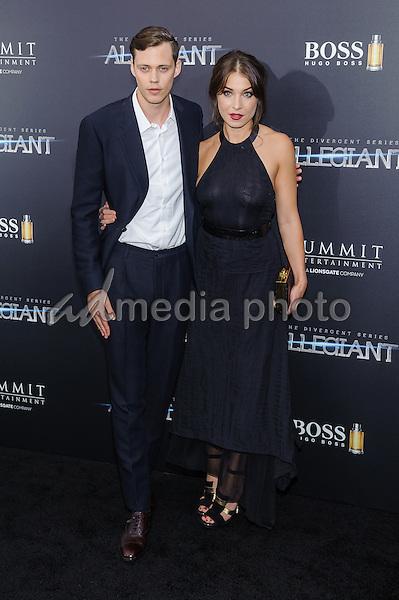 "14 March 2016 - New York, New York- Bill Skarsgard. ""The Divergent: Allegiant"" New York Premiere. Photo Credit: Mario Santoro/AdMedia"