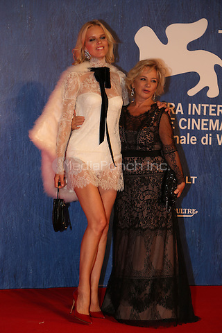 Eva Herzigova attends the premiere of 'Franca: Chaos And Creation' during the 73rd Venice Film Festival at Sala Giardino on September 2, 2016 in Venice, Italy.<br /> CAP/GOL<br /> &copy;GOL/Capital Pictures /MediaPunch ***NORTH AND SOUTH AMERICAS ONLY***