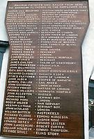 """semaine de Cowes 1971, liste des """"pilgrim fathers"""" embarqués sur le Mayflower"""