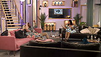 Ashley James, Malika Haqq, Ginuwine<br /> Celebrity Big Brother 2018 - Day 8<br /> *Editorial Use Only*<br /> CAP/KFS<br /> Image supplied by Capital Pictures