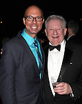 Richard Ridge & Harvey Evans attending the Broadway Opening Night Performance After Party for 'Cat On A Hot Tin Roof' at The Lighthouse at Chelsea Piers in New York City on 1/17/2013