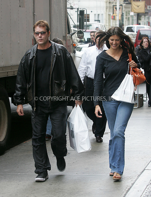 WWW.ACEPIXS.COM . . . . . ....NEW YORK, OCTOBER 13, 2004....Ray Liotta out and about in NYC.....Please byline: BRIAN FLANNERY - ACE PICTURES.. . . . . . ..Ace Pictures, Inc:  ..Alecsey Boldeskul (646) 267-6913 ..Philip Vaughan (646) 769-0430..e-mail: info@acepixs.com..web: http://www.acepixs.com