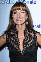 BEVERLY HILLS, CA - SEPTEMBER 27: Actress Jane Seymour arrives at the Operation Smile 2013 Smile Gala held at Regent Beverly Wilshire Hotel on September 27, 2013 in Beverly Hills, California. (Photo by David Acosta/Celebrity Monitor)