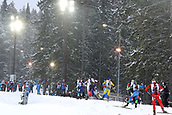 16th March 2019, Ostersund, Sweden; IBU World Championships Biathlon, day 8, mens relay; Biathletes in action