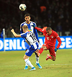 19.01.2020, OLympiastadion, Berlin, GER, DFL, 1.FBL, Hertha BSC VS. Bayern Muenchen, <br /> DFL  regulations prohibit any use of photographs as image sequences and/or quasi-video<br /> im Bild Santiago Ascacibar (Hertha BSC Berlin #18), Marko Grujic (Hertha BSC Berlin #15), <br /> Thiago Alcantara (FC Bayern Muenchen #6)<br /> <br />       <br /> Foto © nordphoto / Engler