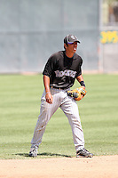 Joey Wong, Colorado Rockies 2010 minor league spring training..Photo by:  Bill Mitchell/Four Seam Images.