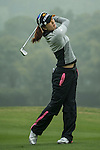Song Yi Ahn of South Korea plays a second shot at the 12th hole during Round 3 of the World Ladies Championship 2016 on 12 March 2016 at Mission Hills Olazabal Golf Course in Dongguan, China. Photo by Victor Fraile / Power Sport Images