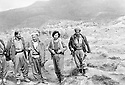 Iraq 1986 <br /> 2nd left, Najmeddin Yousefi with peshmergas near Amadia  <br /> Irak 1986 <br /> 2eme a gauche, Najmeddin Yousefi avec des peshmergas dans la region de Amadia
