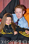 Dr Crokes star Colm Cooper with his niece Ciara, who.is wearing the tracksuit that Colm wore when Dr Crokes.last won the All-Ireland in 1992 and which she has been.wearing at every game on the road to Croke Park.