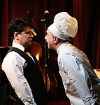 "Steve Tardio and Eddie Varley during the Epress preview for ""Truffles: Music! Mushroom Murder!!!"" at Secret Room on November 15, 2019 in New York City."