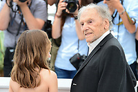 "22 May 2017 - Cannes, France - Fantine Harduin, Jean-Louis Trintignant . ""Happy End"" Photocall - 70th Annual Cannes Film Festival held at Palais des Festivals. Photo Credit: Jan Sauerwein/face to face/AdMedia"